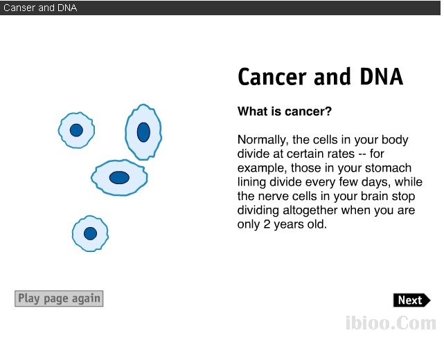 Canser and DNA